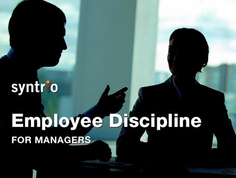 Employee Discipline for Managers and Supervisors