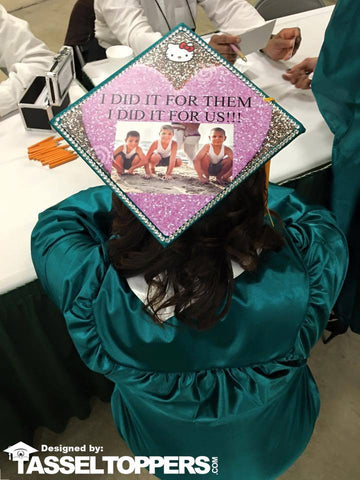 custom grad cap, graduation cap, custom graduation cap, top grad cap, grad cap ideas, DIY grad cap, grad cap quotes, sport grad cap ideas, grad cap ideas for moms,