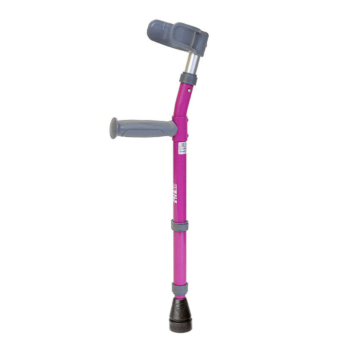Walk Easy Model 564 Toddler Adjustable Forearm Crutches in Colors. (pair)
