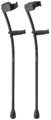 Order CUSTOM Black Phantom Ultra Lightweight Carbon Fiber Crutches