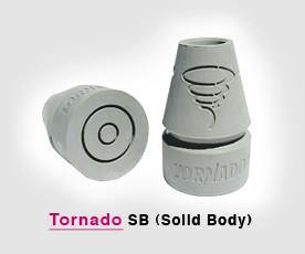 Tornado SB Solid Body Crutch Tips (pair)