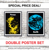 Our popular Planet print series is now available here on Earth - and at a VERY SPECIAL PRICE!