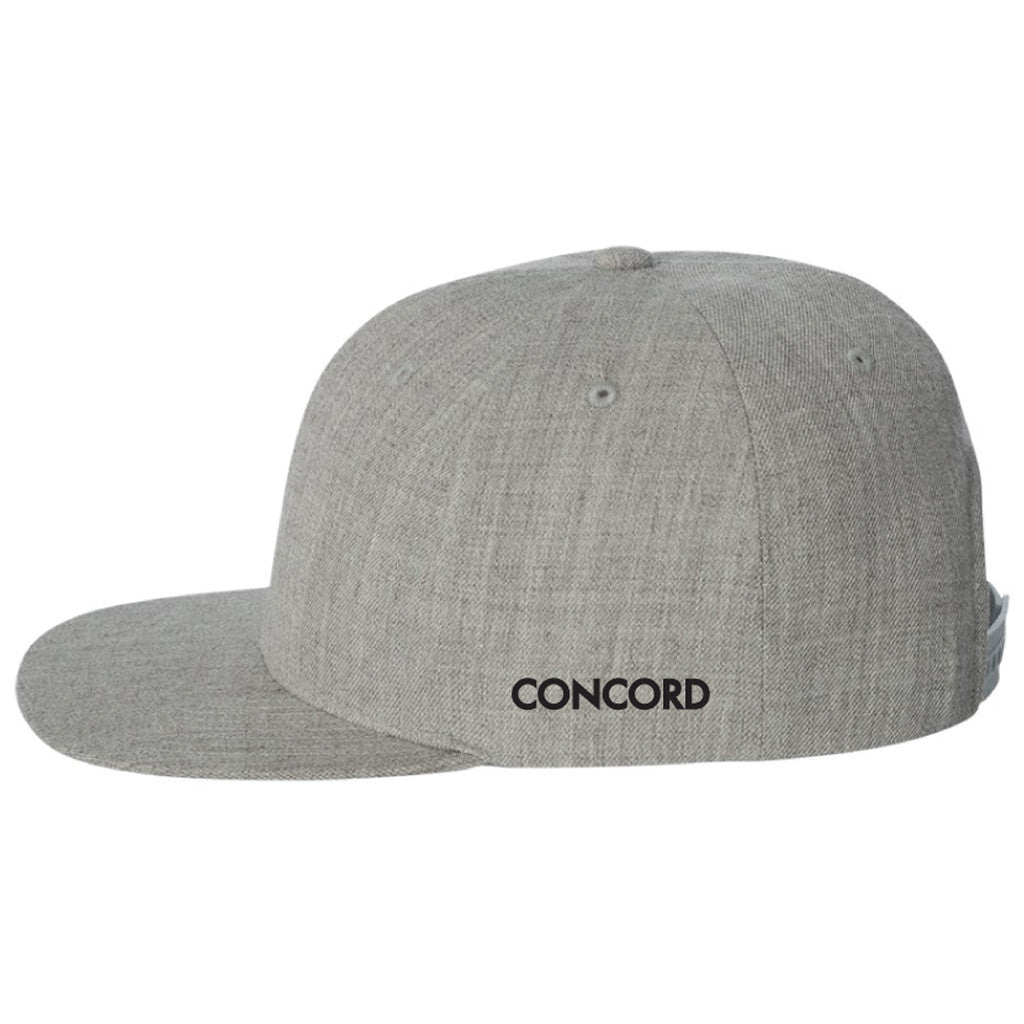 C Star Logo Snap back Hat Concord