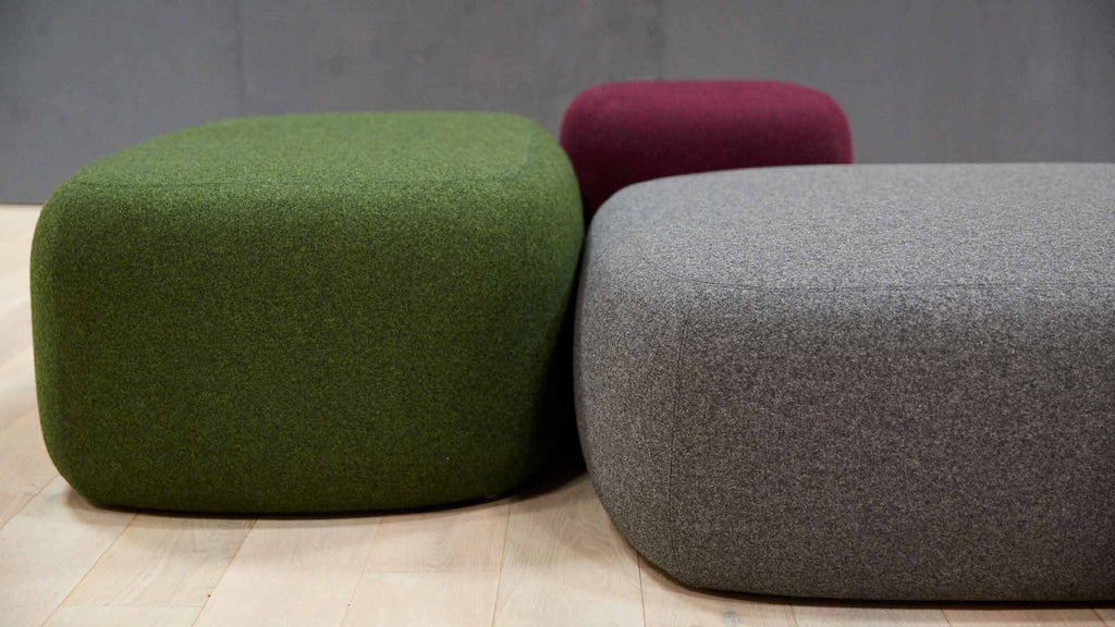 Pebble Ottomans