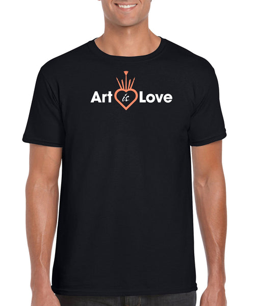 Men's - CROWN - Art is Love T-Shirt