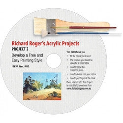 DVD - Richard Rogers - Develop a Free and Easy Painting Style
