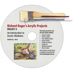 DVD - Richard Rogers - An Introduction to Acrylic Mediums