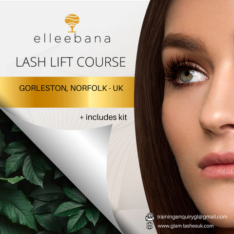 Elleebana Lash Lift/ Tint Training ( Kit Included )