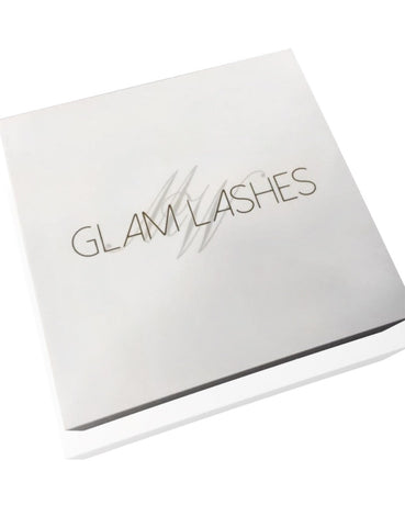 Glam Lashes Lash Tiles Organiser -Double tile with a box