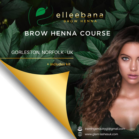 HENNA BROWS COURSE ( Kit included )