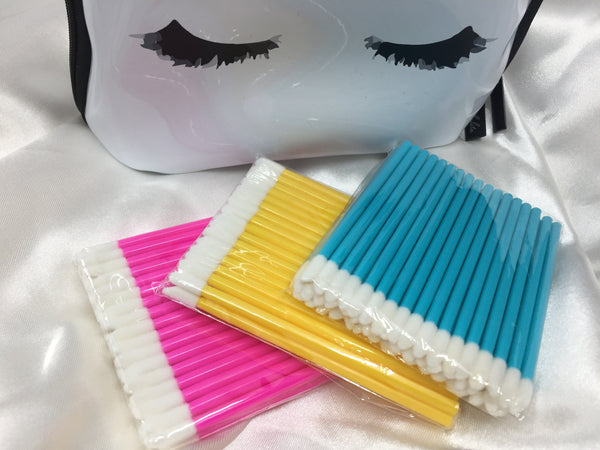CLEANSING BRUSHES/ APPLICATORS FOR EYELASH EXTENSIONS