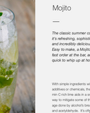 Mojito flush-free recipe
