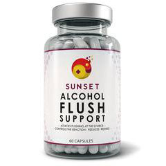 Sunset supplement bottle