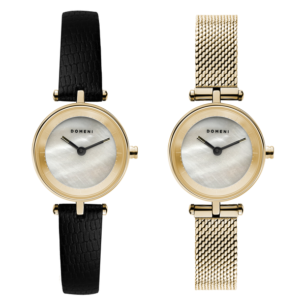 Milanese Mesh Micro Series - Gold Mother of Pearl Micro Signature Series - [Pre-order Price]