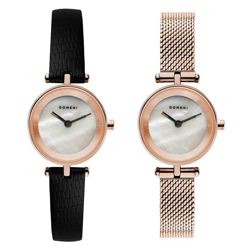 Micro Signature Series - Rose Gold Mother of Pearl Micro Signature Series - [Pre-order Price]