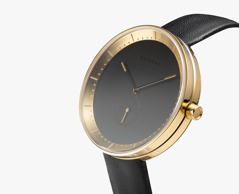 Watches - Gold Signature Series In Leather