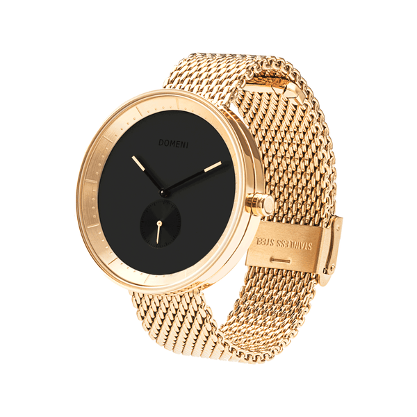 Watches - Gold Signature Series In Milanese Mesh