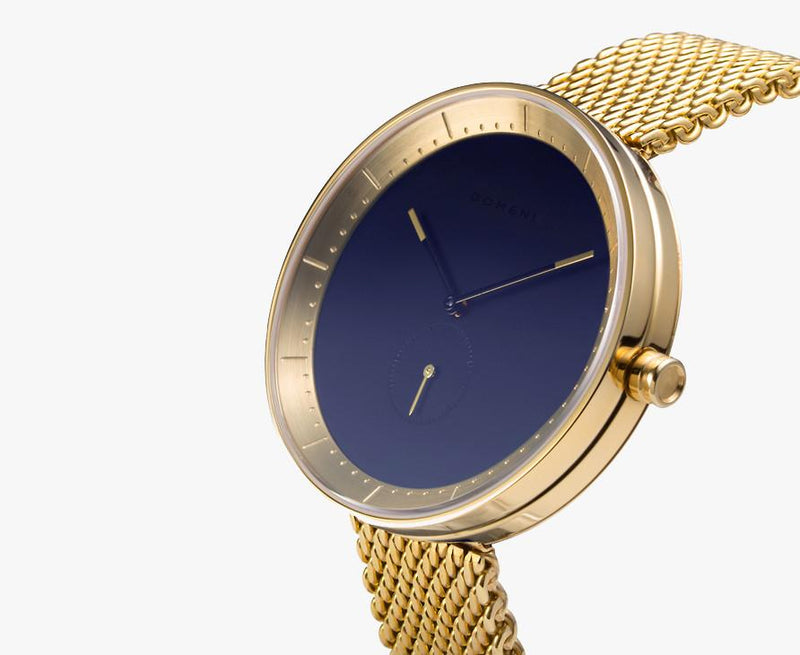 Watches - Gold Signature Series - Navy Dial