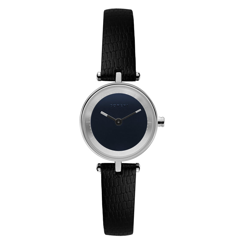 Watches - Micro Signature Series - Silver With Blue Dial