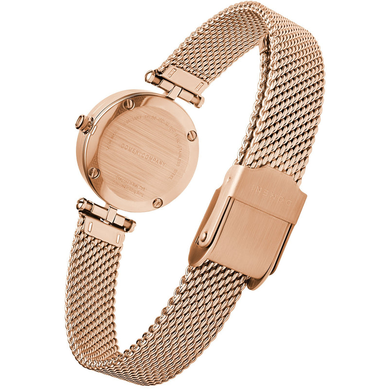 Watches - Milanese Mesh Micro Series - Rose Gold Mother Of Pearl [Pre-order Price]