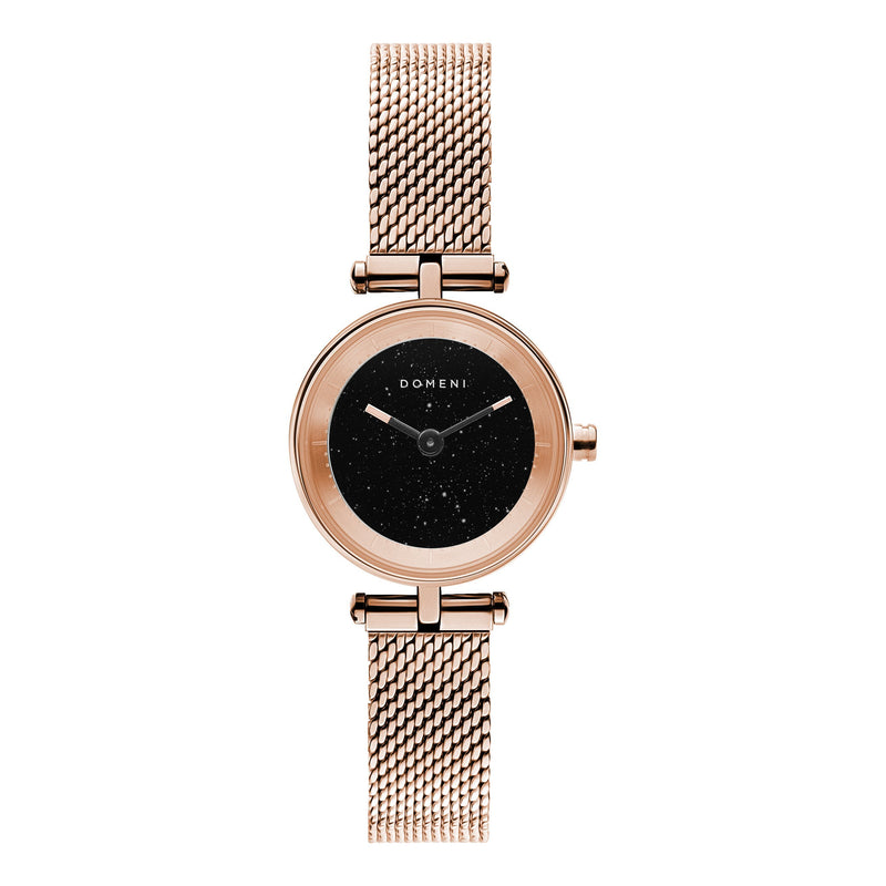 Watches - Milanese Mesh Micro Series - Rose Gold StarDust [Pre-order Price]