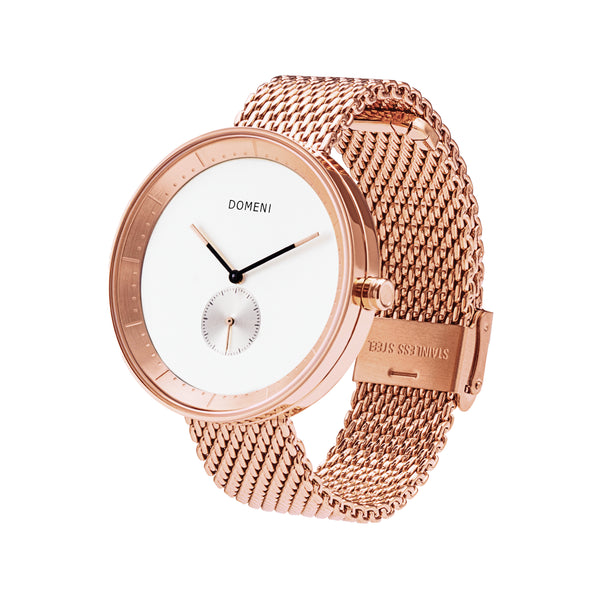Watches - Rose Gold Signature Series In Milanese Mesh