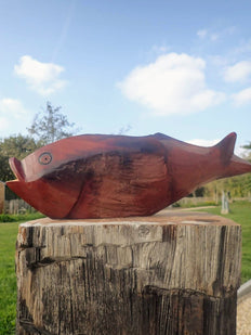 vis drijfhout fish recycle driftwood upcycle