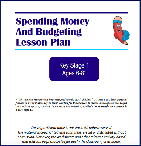 KS1 Spending Money and Budgeting Lesson Plan