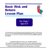 KS1 Basic Risk and Return Lesson Plan for ages 6 to 8