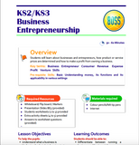KS2-KS3 Business Entrepreneurship Lesson Plan