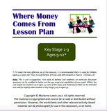 KS2-KS3 Where Money Comes From Lesson Plan