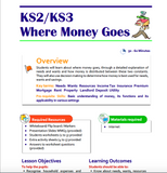 KS2-KS3 Where Money Goes Lesson Plan