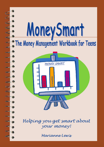 Money Management Workbook for teenagers (budget and spending tracker)