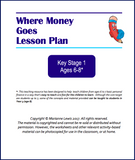 KS1 Where Money Goes Lesson Plan