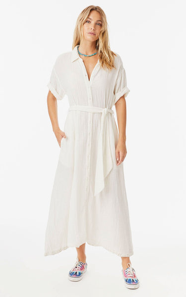 Xirena White Wash Caylin Dress