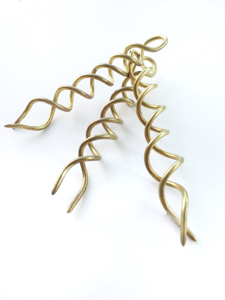 HAIR SCREW // BRASS