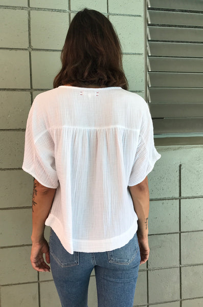 FABLE TOP // WHITE GAUZE