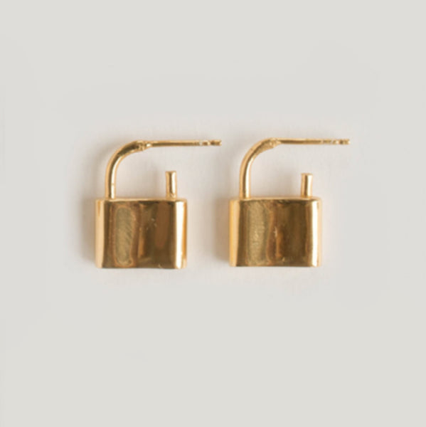 HOLMES EARRING // GOLD PLATED