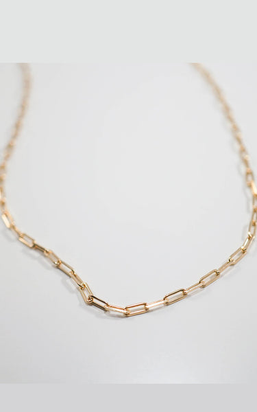 ROMEO NECKLACE // GOLD FILLED CHAIN