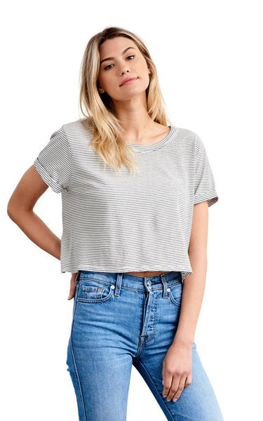 AMELIA CROP TOP // ORGANIC COTTON