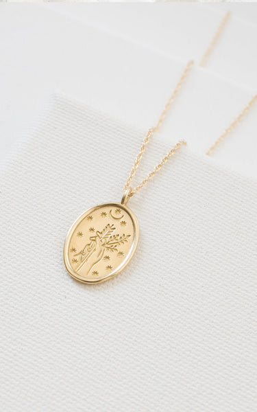 Merewif Jewelry Diana Gold Pendant