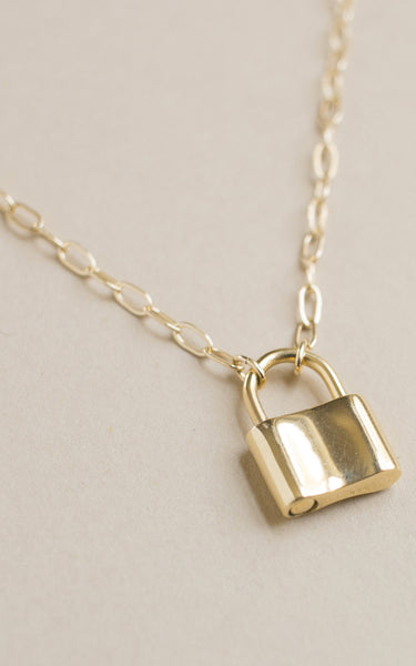 HOLMES NECKLACE // GOLD