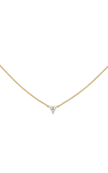 LYRIC // DAINTY GOLD AND CZ NECKLACE