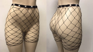 fishnet short