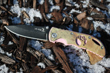 Pink Accented Camouflage Knife