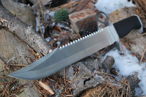 "15"" Stainless Steel Fixed Blade"
