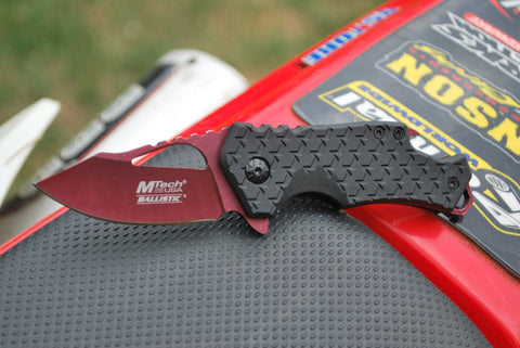 Gripped Tactical Folder With Bottle Opener