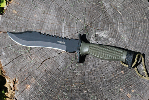 "12"" Saw back Survival Knife"