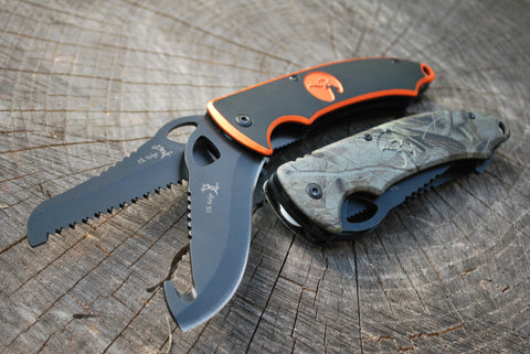Double Blade Hunting Knife