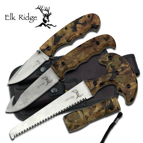 4 Piece Hunting Set